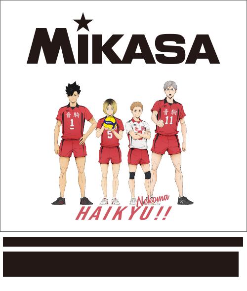 MIKASA×ハイキュー!! プリントイメージ<音駒>