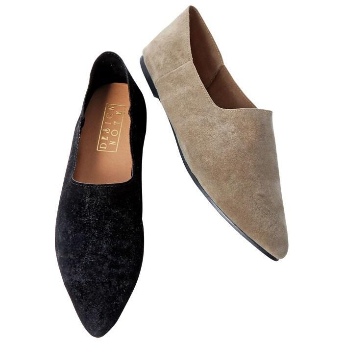 Ranan バブーシュシューズ ブラック M レディース 5,000円(税抜)以上購入で送料無料 サンダル 秋 レディースファッション アパレル 通販 大きいサイズ コーデ 安い おしゃれ お洒落 20代 30代 40代 50代 女性 靴 シューズ