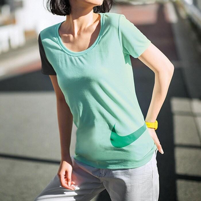 dbc5bffafe4e6 S~L】<NIKE>ドライレジェンドスクープカラーブロックTシャツ ...