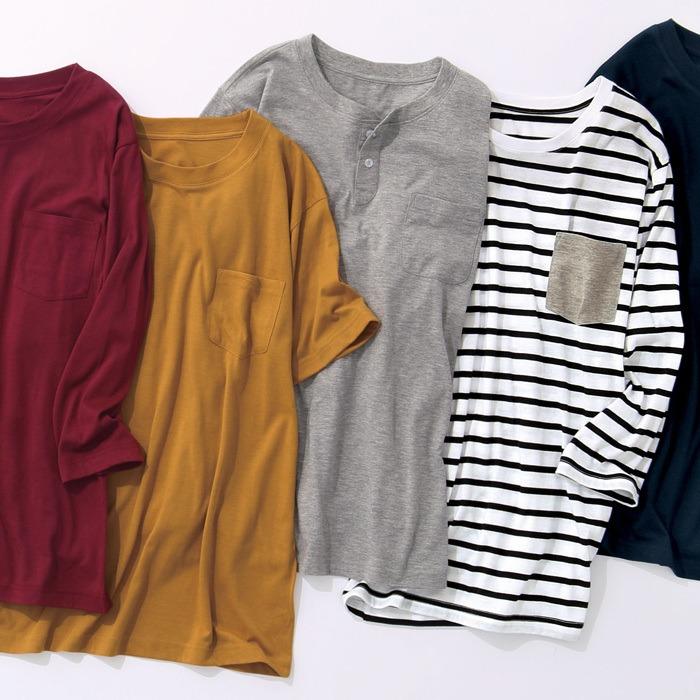 Ranan 【3L〜5L】何枚あっても便利!ポケット付きTシャツシリーズ ホワイト 3L メンズ・レディース